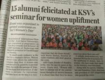 Women upliftment