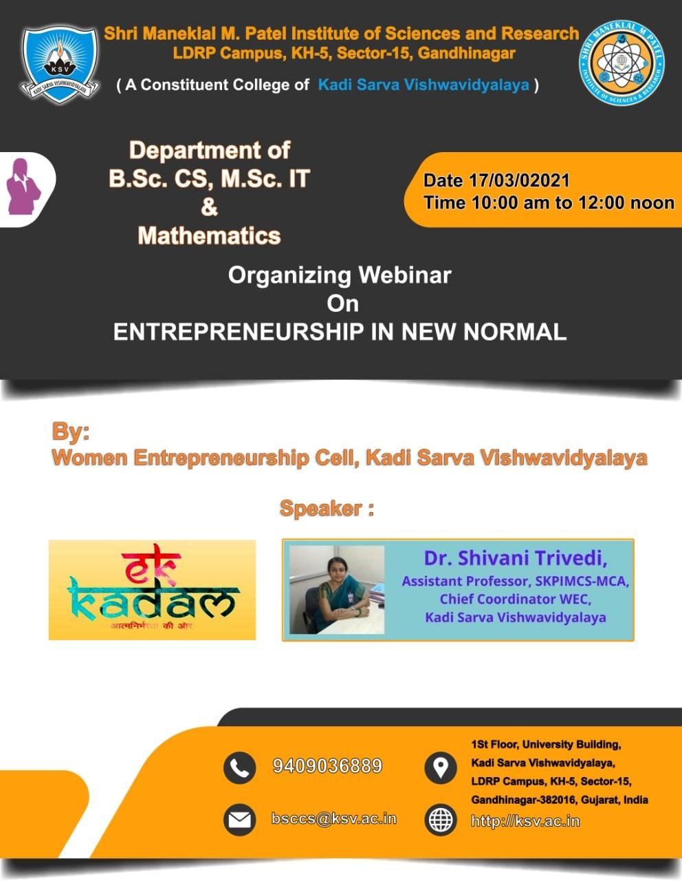 Entrepreneurship New Normal