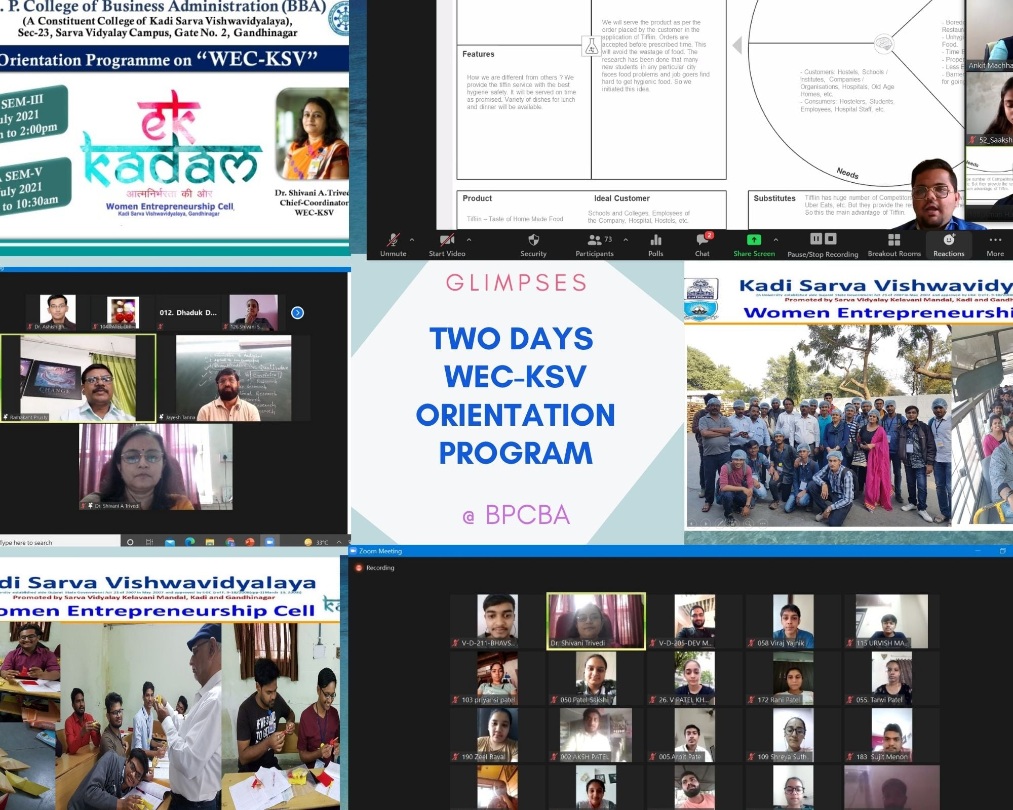 WEC-KSV Orientation program